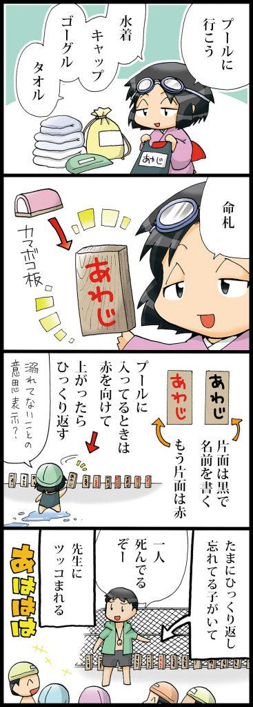 【但馬(エピソードマンガ4コマ)】命札